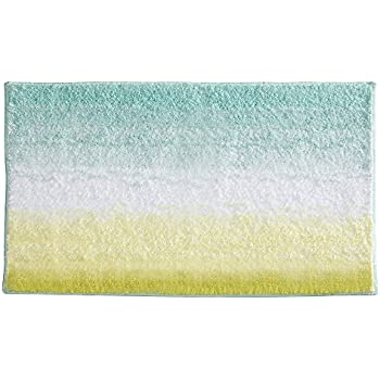 Ombre Gray Bath Rug