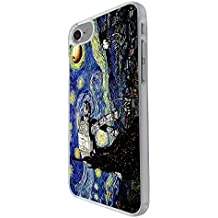 RHINO ARMOUR SLIM - Ultra Premium Case -Vincent Van Gogh Starry nights -New design for Apple iPhone 5 / 5S / SE, Made & Printed in the USA