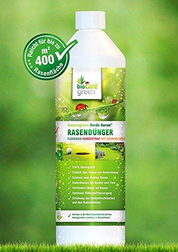 Verde Aurum®, Flüssiger Rasendünger, 100% ökologisch, 1l-Flasche