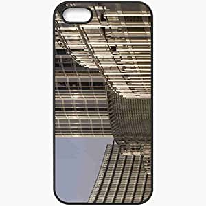 Protective Case Back Cover For iPhone 5 5S Case Burj Khalifa Black