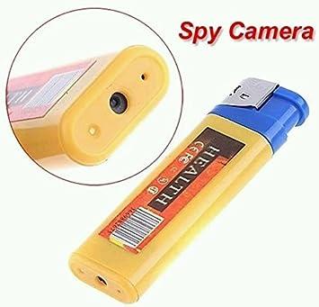 Electro-Weideworld - Encendedor espía USB con cámara, Mini DV cámara más ligera espía cámara Mechero Oculta Videocámara DVR: Amazon.es: Electrónica