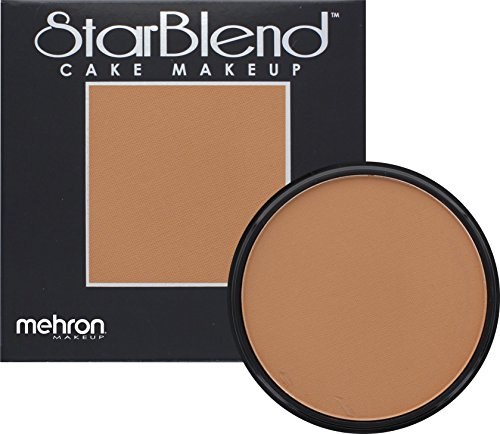 True Blood Costume Ideas (Mehron Makeup StarBlend Cake - LIGHT EGYPTIAN - 2OZ)