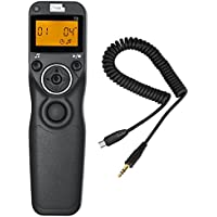 Pixel T3/S2 Wired Timer Shutter Remote Release Control for for Sony A58 NEX-3NL A7/A7R A3000 A6000 HX300 RX100ii