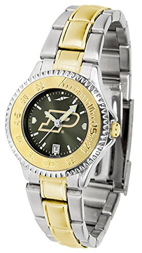 (Purdue Boilermakers Competitor Two-Tone AnoChrome Women's Watch )
