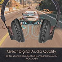Avantree DG59 Plug /& Play Wireless PS4 Gaming Headphones with Mic /& Bluetooth USB Audio Transmitter Set for PC Desktop Computer No Delay 40hrs Play Time Chat /& Music Simultaneously