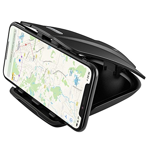 Car Phone Mount, Mpow Dashboard Car Mount, Cell Phone & GPS & Tablet Holder with Three Slots for Multiple Angles, for iPhone X/ 8 Plus/8/ 7 Plus/ 6 6S Plus, TomTom, Navman GPS, Samsung Galaxy S7/S7 edge/S8/8 Plus/a5/S5/S4/Note 2/Note 8Plus/LG g6/G5/G4/Google pixel/Nexus 6p Tablets