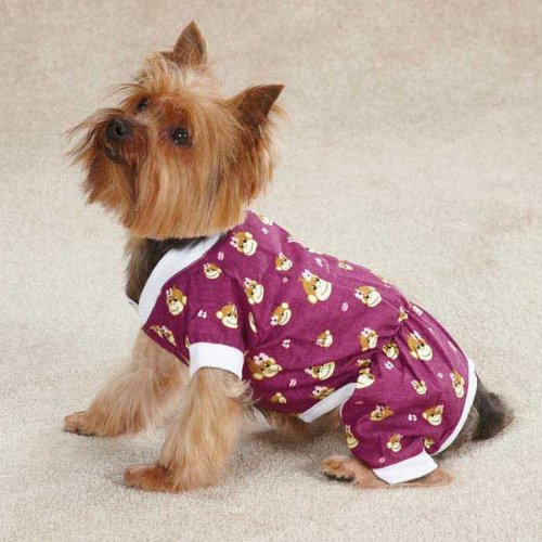 Monkey Business Dog Pajamas Size: Medium (16'' H x 11.5'' W x 0.25'' D), Style: Ty by East Side Collection (Image #5)