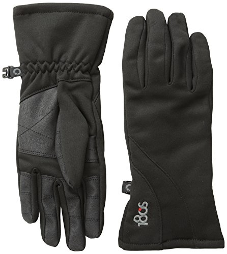 180sレディースウィークエンダーTouch Screen Glove with FauxレザーPalm Small