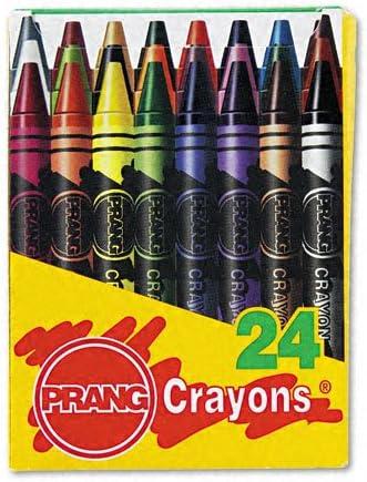 Dixon productos – Dixon – Ceras, 24 colores/caja – se vende como 1 caja – colores son nítidas y verdad. – Para Juntas De fácil apertura caja mantiene ceras accesible y de