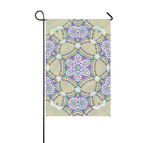 Home Decorative Outdoor Double Sided Tile Ornament Kaleidosc