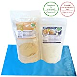 Low Carb Foods and Snacks | 1 Peanut Butter Powder 16 oz. + 1 Pancake Mix 9.3 oz. by LC Foods | For Keto Pancakes & Waffles | Paleo & Keto Friendly