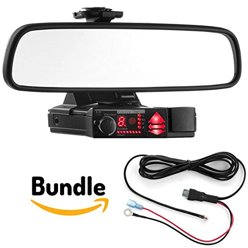 Radar Mount Mirror Mount Bracket + Direct Wire Cord - Valentine V1