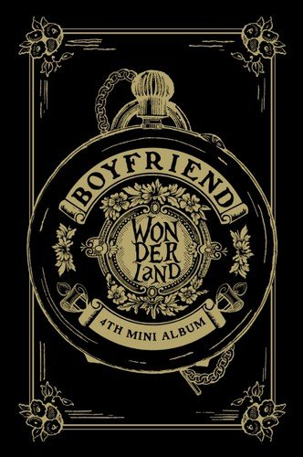 CD : Boyfriend - Boyfriend in Wonderland (4th Mini Album) (Asia - Import)