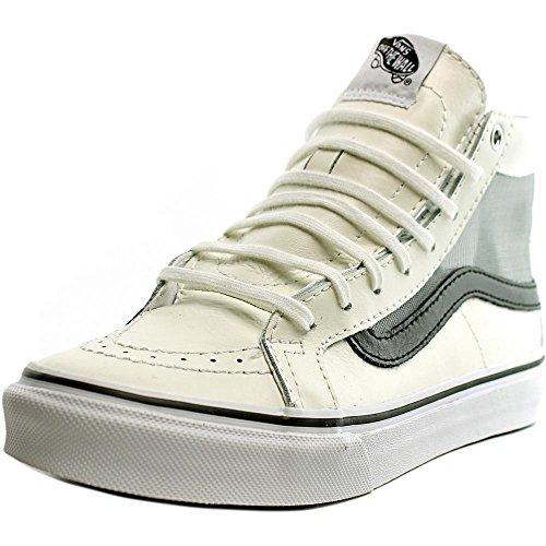 d61d0e58ad Vans SK8-HI SLIM CUTOUT (MESH) mens skateboarding-shoes VN-04KZISZ 6 - WHITE  BLACK - Buy Online in Oman.