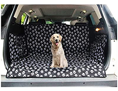 LULUME Pet Dog Trunk Cargo Cover - Car SUV Van Seat Protector - Waterproof Car Floor Mat for Dogs Cats - Washable Dog Accessories by LULUME