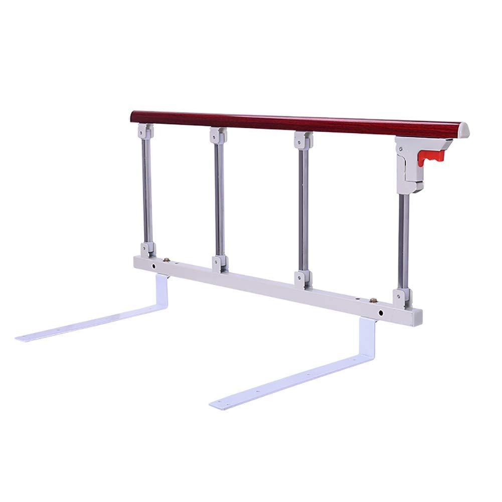 折りたたみ式ベッドレール安全補助ハンドルサイドガードレール用高齢者、病院用メタルベッド手すりグリップバンパーバー1ピース (サイズ さいず : 96x40cm+13cm) 96x40cm+13cm  B07MQSFKC9