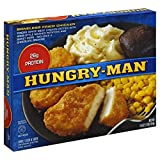 HUNGRY MAN TV BONELESS FRIED CHICKEN DINNER 1 LB PACK OF 3