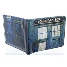 Doctor Who Distressed TARDIS Bi-Fold Wallet