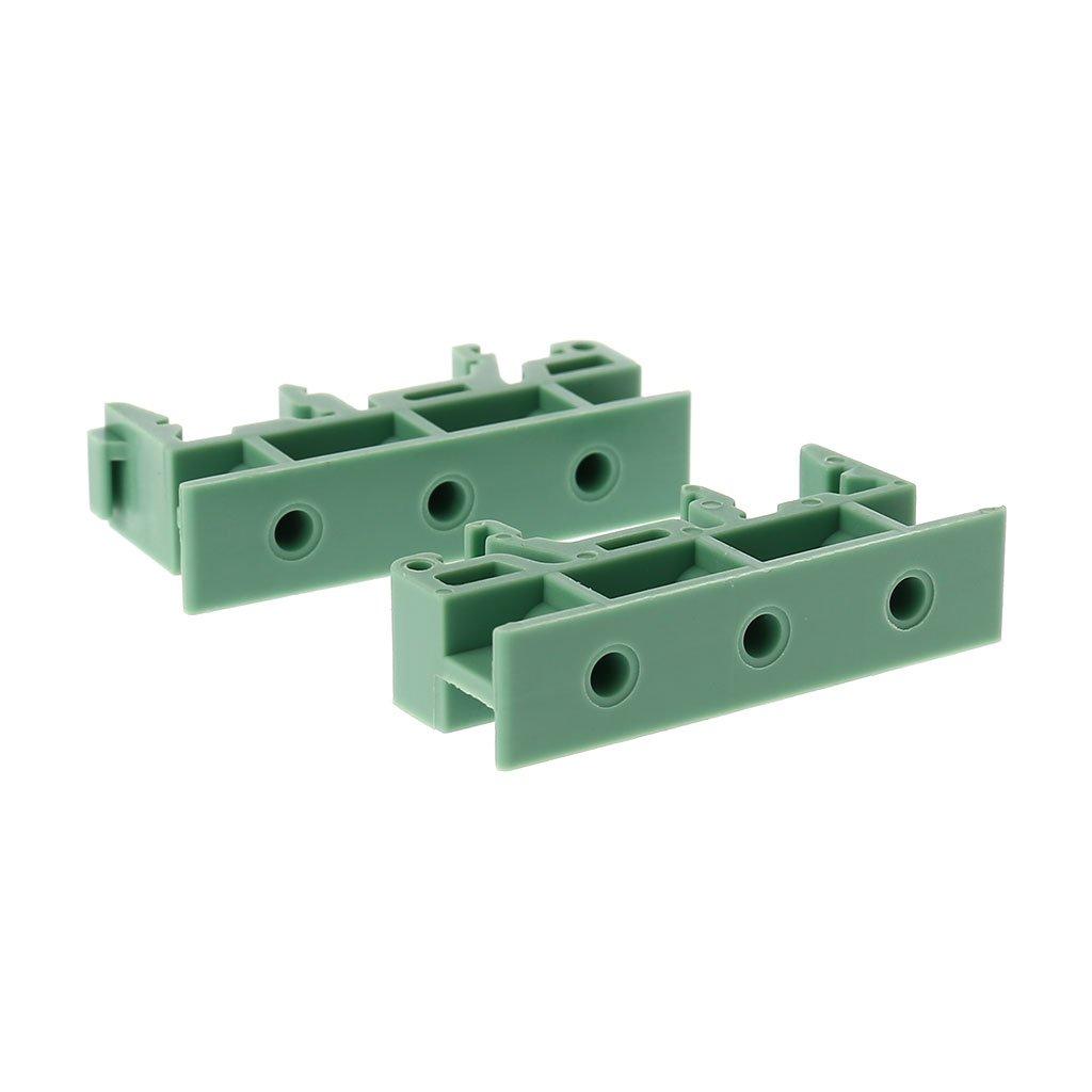 Keepart PCB 35 mm DIN Rail Adaptador de Montaje Placa de Circuito Soporte Soporte Carrier Clips