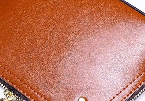 Moontang Sac coloré Noir Rose Main Sac pour en Femme Taille Sac Main Messenger Bag Gris à Malluo bandoulière à Femme Cuir pour à rHwOrq