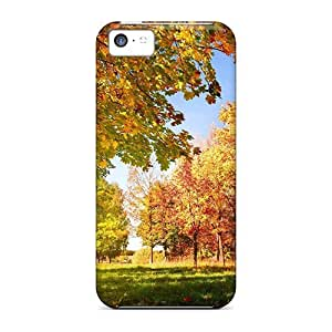 DfAWszc657BKSyy Nature Seasons Autumn Colorful Autumn Landscape Awesome High Quality Iphone 5c Case Skin