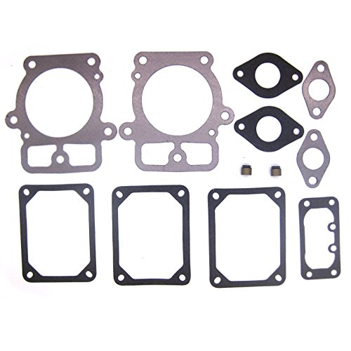 NIMTEK Engine Valve Gasket Cylinder Head Set For Briggs & Stratton 694013 499890 693997 (Engine Head Gasket Cylinder)