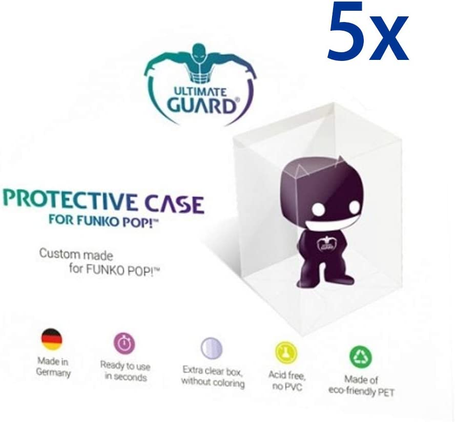5 x Funko Pop Protección Fundas – Pop – Protective Case: Amazon.es ...