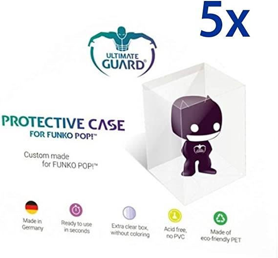 5 x Funko Pop Protección Fundas – Pop – Protective Case: Amazon.es ...