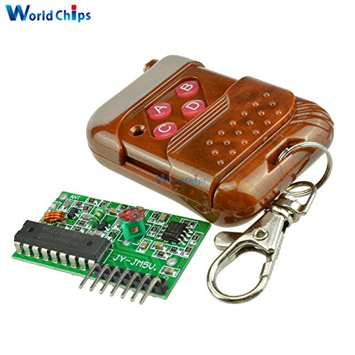 1Set IC 2262/2272 Four Ways 4 CH Key Wireless Remote Control Kit 315Mhz ASK Decoding Receiver Board Module For Arduino 5V/12V - Wireless 4 Ch Receiver Module