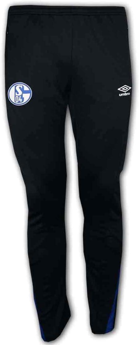 UMBRO Schalke 04 S04 - Pantalones de Deporte para Aficionados al ...