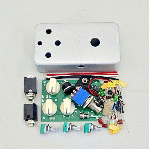 DIY Distortion Effect Pedal Kit- DS-N01 1590B Style Aluminum Metal Stomp Box