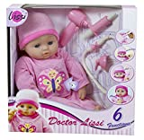 "Lissi 16"" Baby Doctor Doll and Medical Set Role Play Toy"
