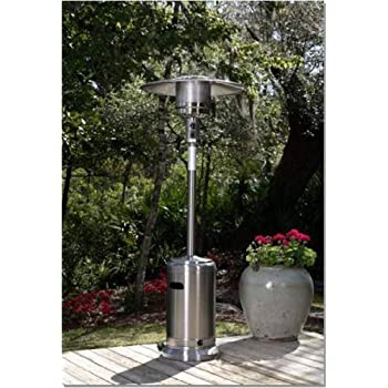 Fire Sense  46,000 BTU [XL-Series] Stainless Steel Patio Heater w/Wheels (Propane)