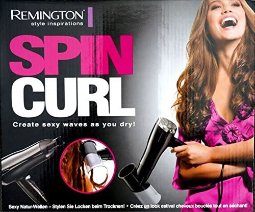 Remington D1001 Haartrockner Spin Curl: : Drogerie
