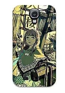New Arrival Galaxy S4 Case Animal Cat Original Wyxzettai Ryouiki Case Cover