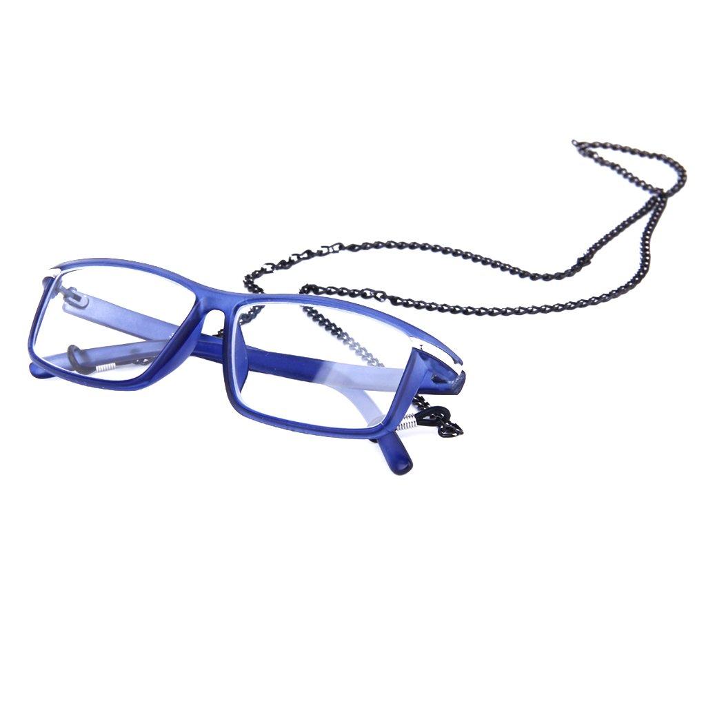 Laccio Occhiali Da Sole//Vista Catena Metallo Nero Regolabili Laccietto