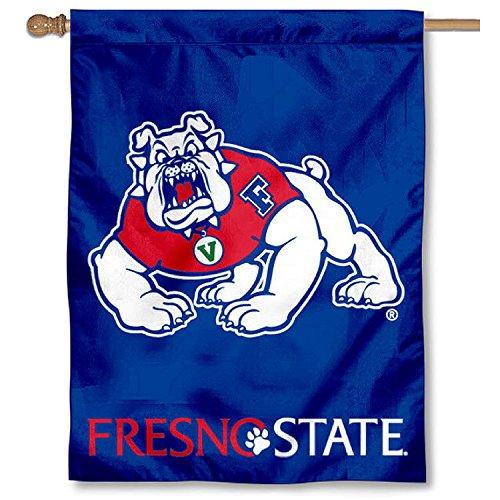 Fresno Flag State (FSU Bulldogs House Flag Banner)