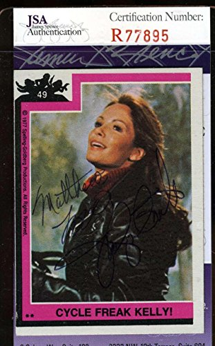 JACLYN SMITH Hand Signed Topps Charlies Angels Card 49 Autographed Authentic - JSA Certified ()