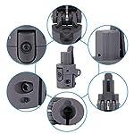 Konesky-Scooter-Elettrico-Base-per-Palo-Pieghevole-Gancio-per-Vite-di-Bloccaggio-Connettore-in-Metallo-Pezzi-di-Ricambio-Compatibile-con-Xiaomi-M365