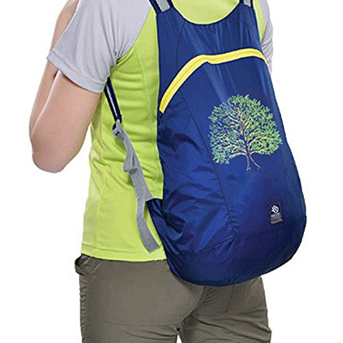 APAS Ultra Light Packable Handy Travel Backpack Water Resistant Daypack Outdoor Shoulder Bags 14L