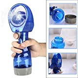 Outsta Portable Handheld Water Misting Fan, Cooling Cool Water Spray Misting Fan Outdoor Carabiner Mini Fan Hand Atomizer for Summer Beach,Camping, BBQ and More Outdoor Activities