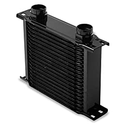 Earl\'s 21900AERL 19 Row Oil Cooler Core Black