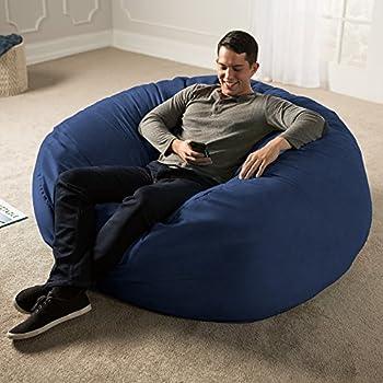 Amazon Com Jaxx 5 Foot Saxx Big Bean Bag Chair For