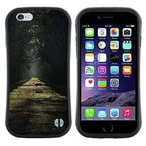"Hypernova Slim Fit Dual Barniz Protector Caso Case Funda Para Apple (5.5 inches!!!) iPhone 6 Plus / 6S Plus ( 5.5 ) [Rain Summer Sunshine Sun Road""]"