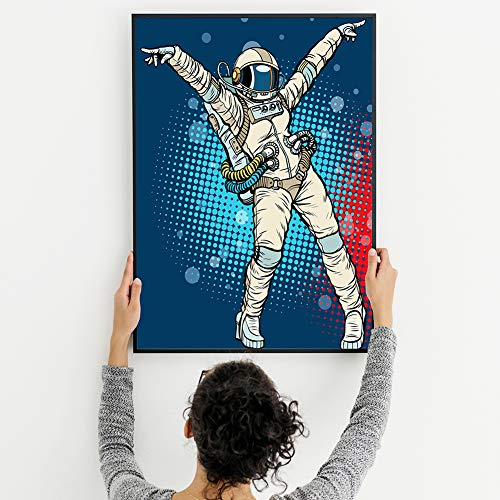 - Diamond Painting Kits for Adults – 5D DIY Diamond Dotz Kits with Full Drill – Great Decor for Home, Office, Living Room, Bedroom, Kitchen (Astronaut 13x16 Inch A)