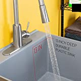 Laundry Sink Utility Tub With High Arc Stainless