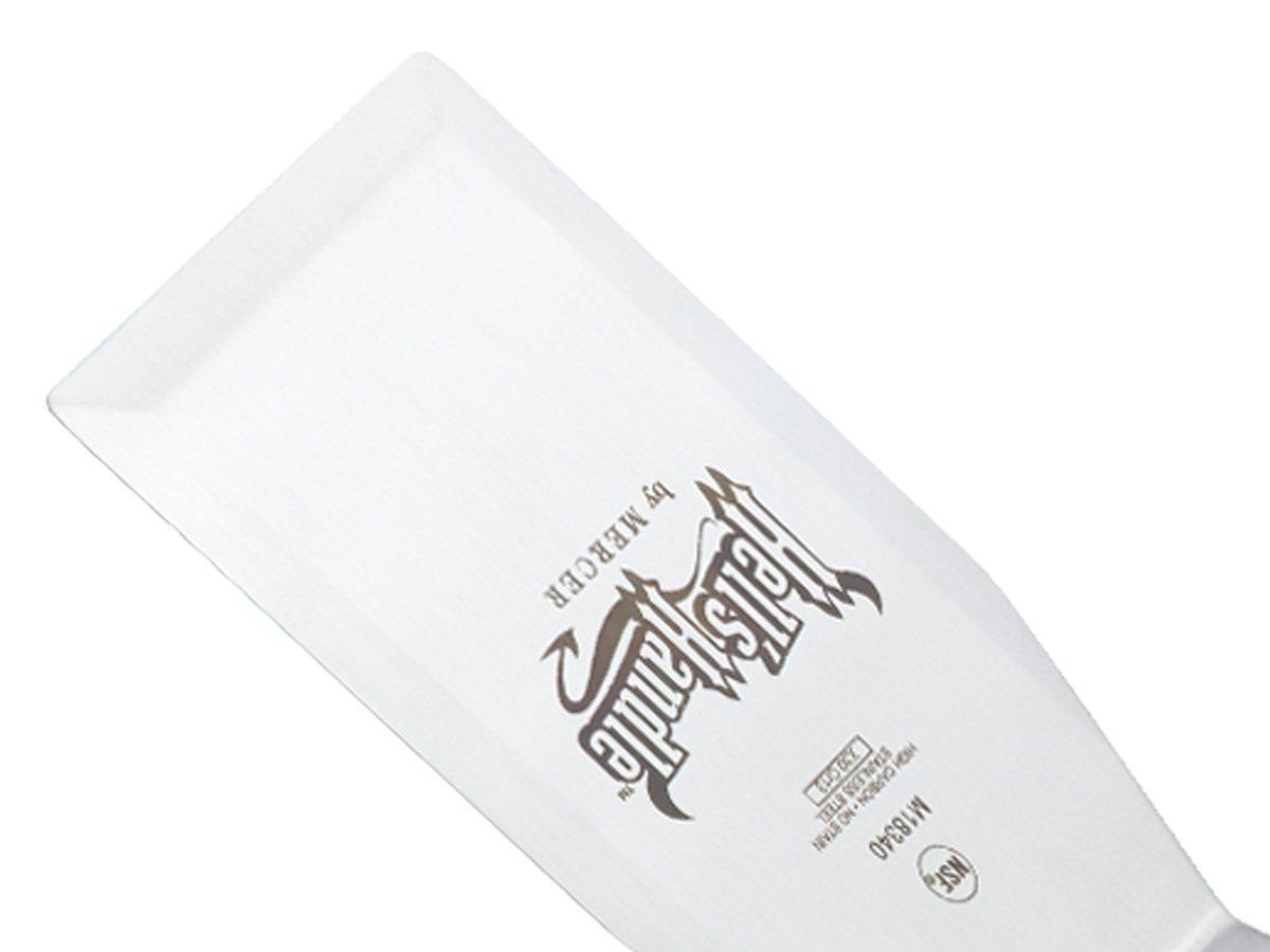 Mehrfarbig Hells Handle 10 x 23 cm gro/ßer Fischwender Mehrfarbig Mercer Culinary Edelstahl Schwere Pflicht Turner//Spatel