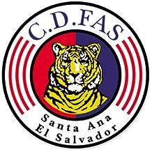 "CD Fas - El Salvador Football Soccer Futbol - Car Sticker - 4"""
