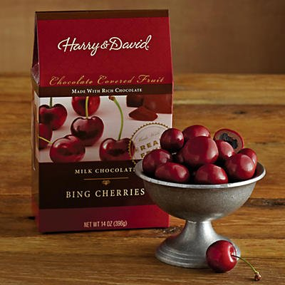 Milk Chocolate Cherries - Gift Baskets & Fruit Baskets - Harry and David, 14Oz (Fruit Baskets David And Harry)
