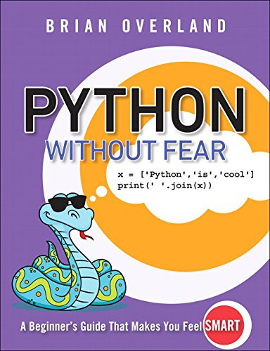 Book cover of Python Without Fear by Brian Overland